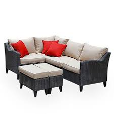 replacement patio cushions for big lots patio sets garden winds within outdoor sectional replacement cushions