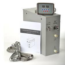 steam shower kit. Steam Generator Shower Kit