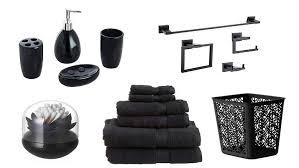 black bathroom accessories. Unique Black Throughout Black Bathroom Accessories