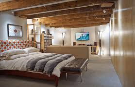 unfinished basement bedroom. Contemporary Bedroom Unfinished Basement Bedroom Ideas Intended N