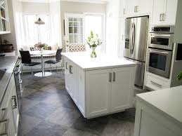 White Floor Tile Kitchen Kitchen Modern Kitchen Floor Tile In 10 Styles Modern White