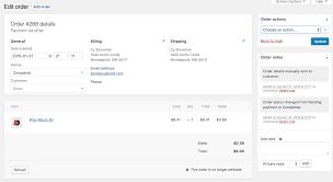 Managing Orders - WooCommerce Docs