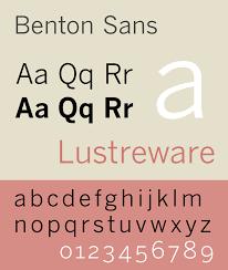 Benton Sans Wikipedia