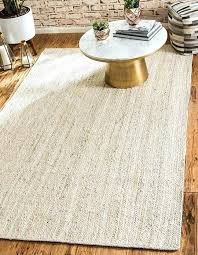 off white braided rug 8 x jute area rugs 1 0 s image