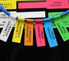 Flag Type Patch Cord Labels