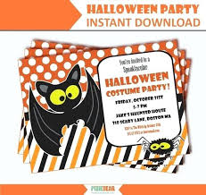 Halloween Costume Party Invitations Mickey Mouse Birthday 1