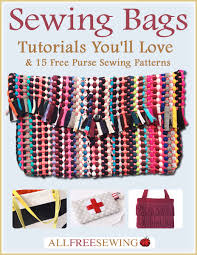 Purse Sewing Patterns Beauteous New Edition Sewing Bags Tutorial You'll Love 48 Free Purse