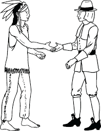 Pilgrim Coloring Sheet T2773 Longhouse Coloring Page Girl Coloring