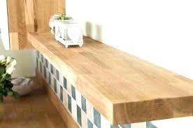 real wood floating shelves solid oak shelf white