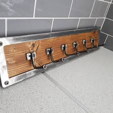 Industrial Style Coat Rack Industrial Style Coat Rack by Creative Fab Worx in Sheffield 10