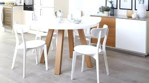 4 piece dining set home design clic white and wood round for table arc oak gloss colourful magnificent
