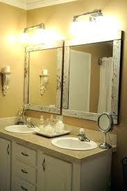 42 bathroom mirror bathroom mirror best framed bathroom mirrors ideas on framing a regarding por home