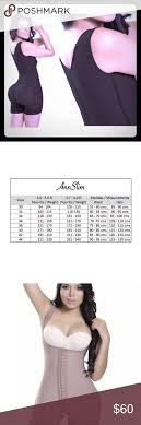 Ann Slim Faja Shapewear Size L See Size Chart Ann Slim