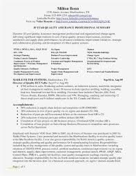 Project Management Resume Inspirational 22 Project Management Resume