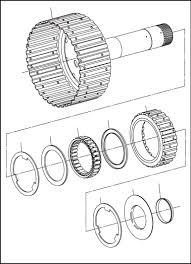 Washer476intermediate clutch roller thrust bearingassembly477intermediate clutch roller thrust bearingassembly retainer