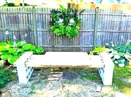 cinderblock furniture. Concrete Block Furniture. Fine Furniture Ideas Cinder Patio Garden Bench Throughout Cinderblock