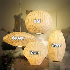 modern george nelson style bubble pendant lamp hanging ball cigar saucer pear