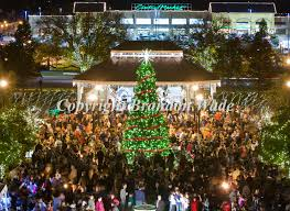 Thousands gather at Southlake's Town Square to watch the lighting of the  city's Christmas tree Saturday, Nov. 20, 2010. Special to the Fort Worth ...