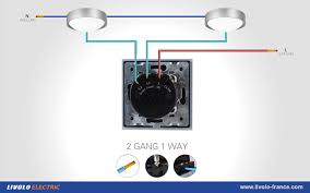 media livolo ® switch touch 2 buttons 1 way