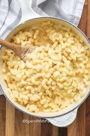 creamy stovetop mac and cheese spend
