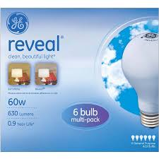 60 Watt Light Bulb Walmart Ge Reveal Incandescent Light Bulbs 60w Walmart Com