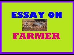 essay writing farmer essay an indian