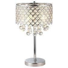 crystal chandelier table lamp nice chrome round bedroom nightstand 3 manufacturers