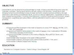 Creating A Good Resume Write A Good Resume Objective Writing For How To Resumes