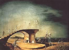 salvadordali art the broken bridge and the dream 1945 salvador dali