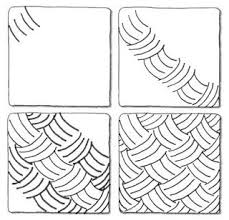 Zentangle Patterns Step By Step Magnificent zentangle patterns step by step Google Search Zentangle