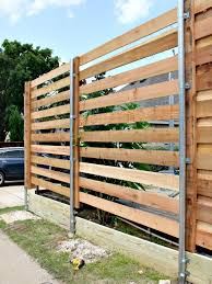 horizontal wood fence with metal posts. Beautiful Horizontal Hi Sugarplum  Horizontal Fence And Wood With Metal Posts P