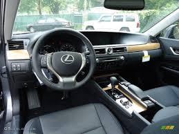 Black Interior 2013 Lexus GS 450h Hybrid Photo #69382768 ...