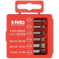 <b>Набор бит Felo</b> Profi SL 50 мм 6 предметов в кейсе, цена - купить ...