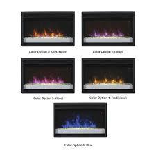 modern electric fireplace insert brilliant classicflame 26 in spectrafire plus contemporary regarding 17