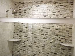 Modern Shower Remodel Glass Tiles I With Design Ideas