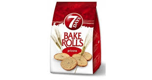 7 Days Bake Rolls From Greece With Pizza Flavor 160g 564