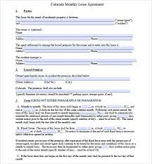 10 Sample Lease Agreement Templates To Download | Sample Templates