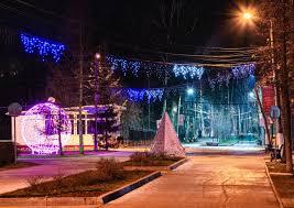 Тульские парки украсили к Новому Году: километры гирлянд и ...