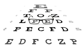 Ist2_5495506_glasses_on_eye_chart