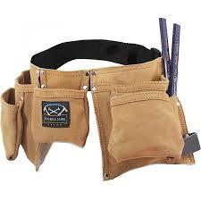 kids tool belt. young builder kids leather tool belt t