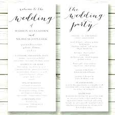 Wedding Booklet Template Free Wedding Mass Booklet Template Catholic Funeral