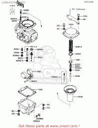 kawasaki kl250a5 klr250 1982 usa carburetor parts buy view large image