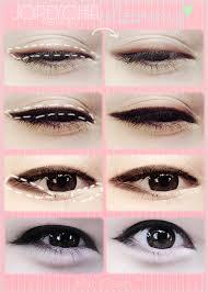 ulzzang makeup eyeliner images
