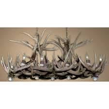 new reion white tail mule deer combo chandelier rs 10