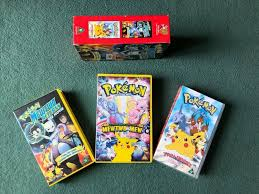 POKEMON – The First Movie and 2 Other Films VHS (UK format)   in Leighton  Buzzard, Bedfordshire
