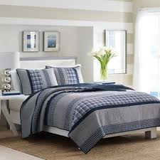 Buy Navy Blue Quilt from Bed Bath & Beyond & Nautica® Adelson Twin Quilt in Navy Adamdwight.com