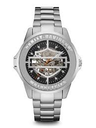 harley davidson men s watches bulova bulova 76a154 harley davidson men s automatic watch