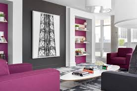 Purple Living Room Purple And Grey Themed Living Room Advice For Your Home Decoration
