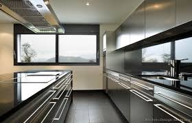 Modern Stainless Steel Kitchen Cabinets (1 of 4)