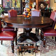 dining room 42 round pedestal dining table with leaf round wood pedestal dining table 42 inch